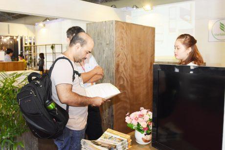 Công ty Cp Gổ Tây Ninh cũng tham gia hội chợ triển lãm lần này