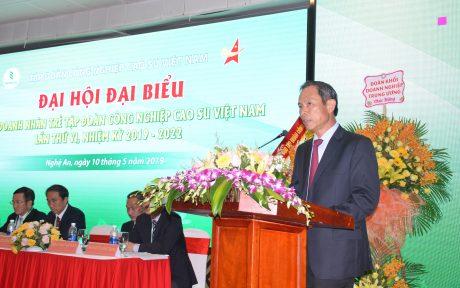 Chủ tịch VRG Trần Ngọc  Thuận phát biểu chỉ đạo đại hội
