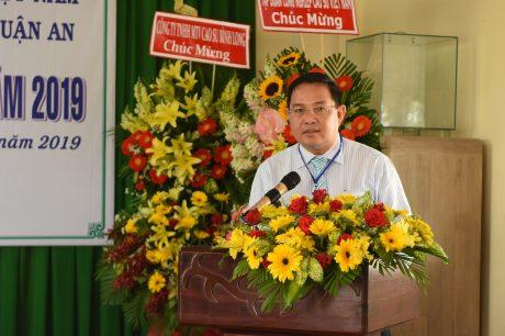 Ông Trương Minh Trung - Phó TGĐ VRG phát biểu chỉ đạo tại đại hội