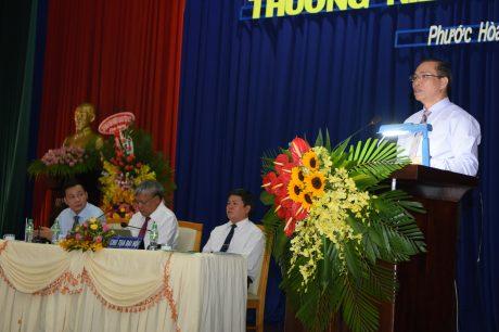 Ông Lê Thanh Tú - Phó TGĐ VRG phát biểu chỉ đạo đại hội