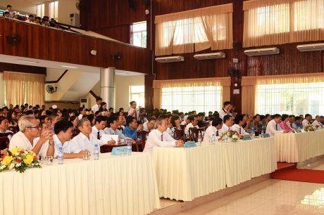 Đại biểu khách mời tham dự lễ kỷ niệm