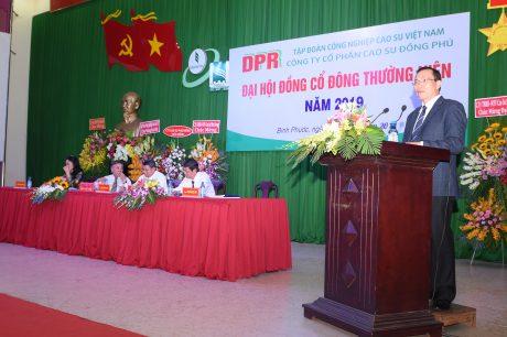 Ông Lê Thanh Tú – Phó TGĐ VRG đánh giá cao tất cả các mặt hoạt động của công ty