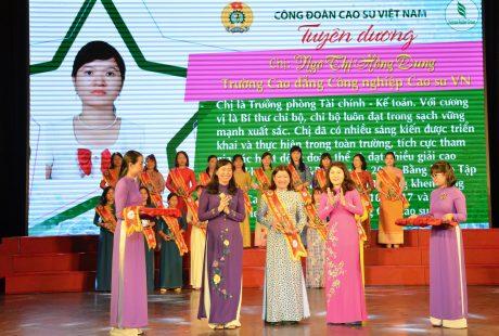 Công tác nữ công và hoạt động nữ CNVC - LĐ VRG được Tổng Liên đoàn Lao động VN đánh giá cao trong suốt thời gian qua