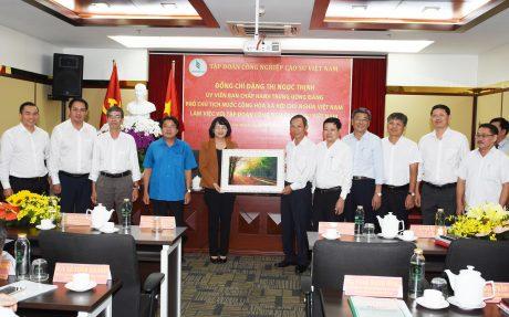Chuyến thăm và làm việc của đoàn công tác Phó Chủ tịch nước là nguồn động viên to lớn cho CB.CNVC - LĐ ngành cao su
