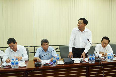 Đại diện lãnh đạo các công ty cũng đã báo cáo tình hình thực hiện với tỉnh trong những năm qua