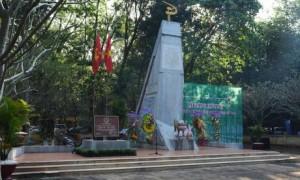 Di tích Tượng đài Phú Riềng Đỏ sẽ được tôn tạo trong năm 2019.