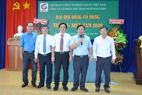 Tại Đại hội đồng Cổ đông thường niên, Ông Huỳnh TẤn Siêu - Q. Trưởng ban Công nghiệp được bầu bổ sung vào HĐQT và giữ chức Chủ tịch HĐQT