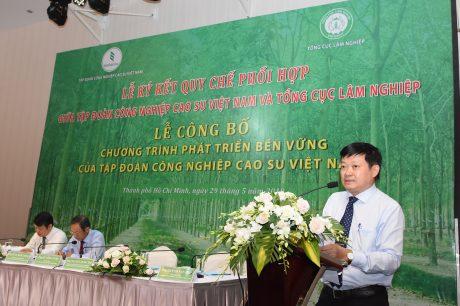 Ông Huỳnh Văn Bảo – TGĐ VRG phát biểu tại buổi lễ