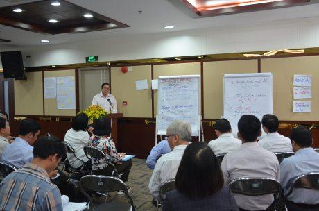 Ông Trương Minh Trung - Phó TGĐ VRG phát biểu khai mạc Hội thảo