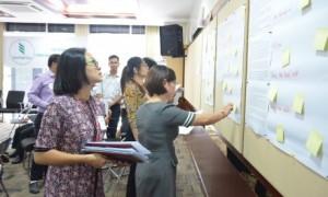 Các đại biểu hào hứng tham gia các nội dung trong chương trình Hội thảo