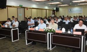 Các đại biểu tham gia hội nghị tại VRG