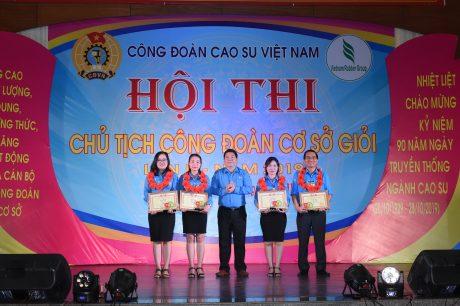 BTC trao giải ba cho các cá nhân