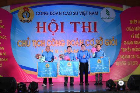 Ba đơn vị đạt giải ba tại Hội thi