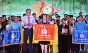 Trong 8 tiết mục tham dự, TCT Cao su Đồng Nai xuất sắc giành 5 Huy chương vàng và giải nhất Hội diễn