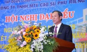 Ông Trần Ngọc Thuận - Bí thư Đảng ủy, Chủ tịch HĐQT VRG phát biểu chỉ đạo.