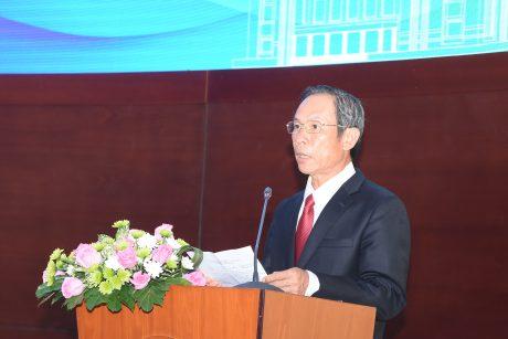 Ông Trần Ngọc Thuận - Chủ tịch HĐQT VRG phát biểu tại buổi lễ