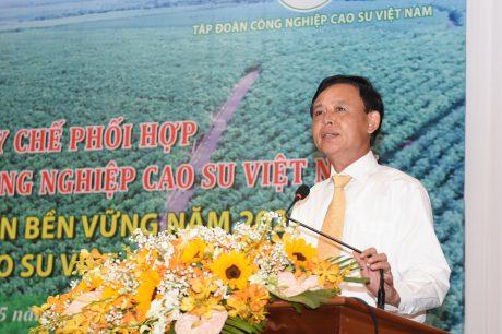 Ông Hà Công Tuấn – Thứ trưởng thường trực Bộ NN&PTNT đánh giá cao kết quả phối hợp giữa Tổng cục Lâm nghiệp và VRG