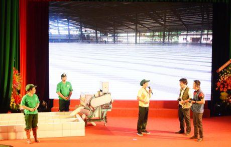 Phần thi tự giới thiệu của Tập đoàn Cao su Việt Nam