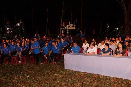 Hội trại thu hút đông đảo ĐVTN về tham dự