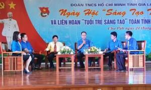 Lãnh đạo Đảng ủy Công ty và Đoàn TN tỉnh giao lưu đối thoại với ĐVTN Công ty