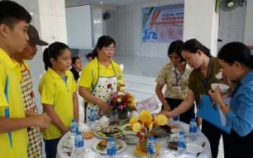 Cao su Dầu Tiếng tổ chức thi nấu ăn chào mừng Ngày Gia đình Việt Nam