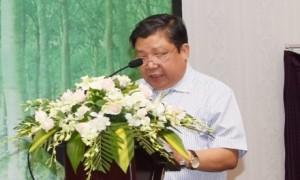 Ông Cao Chí Công - Phó Cục trưởng Tổng cục Lâm nghiệp. Ảnh: Vũ Phong.