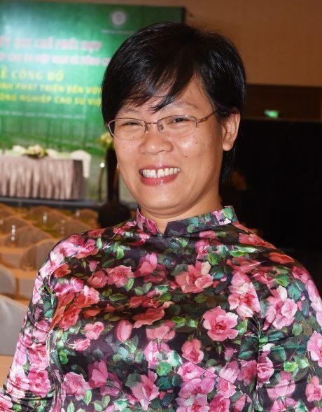 Bà Lê Kim Thái - Điều phối viên Tổ chức Oxfam. Ảnh: Vũ Phong