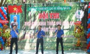 3 anh em Đông - Nam - Bắc là hạt nhân nòng cốt trong phong trào văn nghệ ở Cao su Bình Thuận.