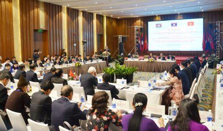 Hội nghị lần 7 Ủy ban Đối ngoại Quốc hội ba nước VN – Lào - Campuchia. Ảnh: CTV