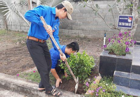 Tuổi trẻ Cao su Phước Hòa thực hiện nhiều phần việc thanh niên