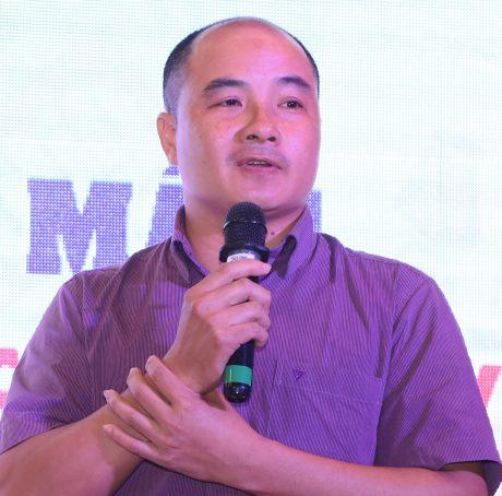 Dây chuyền sản xuất của 1 doanh nghiệp bên trong KCN Rạch Bắp. Ảnh: Nguyễn Văn Hải.