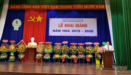 Ông Lê Thanh Tú – Phó TGĐ Tập đoàn phát biểu chỉ đạo