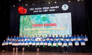 Liên hoan thanh niên tiên tiến làm theo lời Bác năm 2017. Ảnh: Tùng Châu.