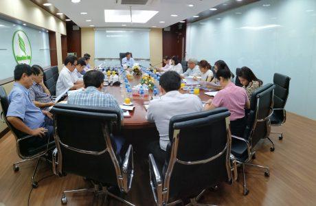 Toàn cảnh cuộc họp Ban tư vấn Phát triển bền vững VRG ngày 23/5