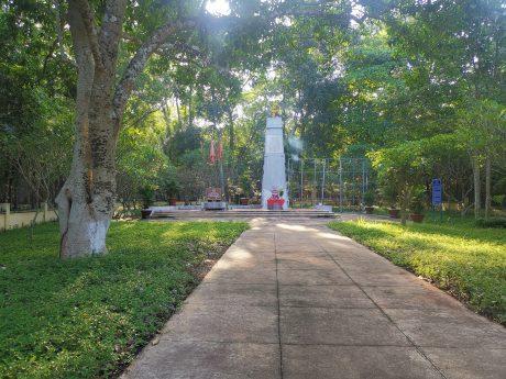Quang cảnh Khu Di tích Phú Riềng Đỏ