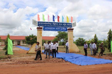 Trường tiểu học hữu nghị Tân Biên - Kampong Thom do Công ty CPCS Tân Biên - Kampong Thom đầu tư
