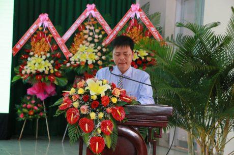 ông Phạm Nguyên Khang – Phó TGĐ Công ty TNHH MTV Cao su Bình Thuận đã ôn lại truyền thống