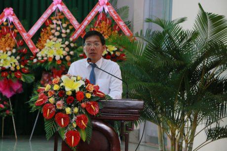 ông Lê Tuấn Phong – Phó Chủ tịch UBND tỉnh Bình Thuận phát biểu tại buổi họp mặt