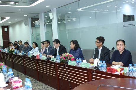 Đoàn công tác Tổng cục thuế Campuchia