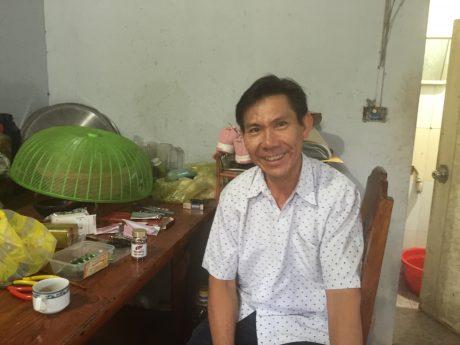 Anh Võ Văn Huề đang chống chọi với căn bệnh hiểm nghèo.