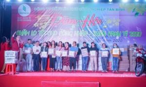 Dịp Tết vừa qua, KCN Tân Bình tổ chức Đêm hội chăm lo Tết cho công nhân. Ảnh: CTV