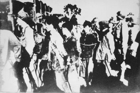Thực dân Pháp tăng cường bắt công nhân cao su đi lính