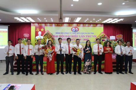 BCH Đảng bộ nhiệm kỳ 2020 - 2025 ra mắt đại hội