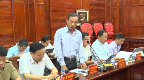 Ông Trần Ngọc Thuận – Chủ tịch HĐQT VRG phát biểu tại buổi làm việc với tỉnh Bình Phước