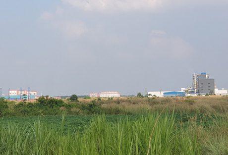 Xã Long Tân hiện đã mọc lên các cụm công nghiệp, khu công nghiệp cho thấy bước phát triển của địa phương. Ảnh: H.N