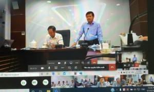 Lãnh đạo VRG chủ trì cuộc họp