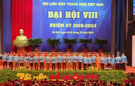 Anh Thái Bảo Tri - UV Đoàn Chủ tịch TW Hội LHTN VN, Chủ tịch Hội LHTN VN VRG được hiệp thương vào Đoàn Chủ tịch 25 anh chị chủ trì Đại hội