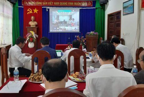 Điểm đầu cầu trực tuyến tại Cao su Bà Rịa Kampong Thom