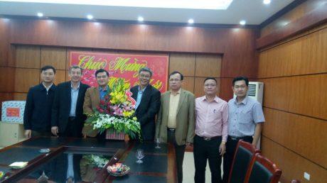 Lãnh đạo VRG chúc Tết tại tỉnh Điện Biên.